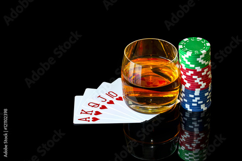 How to play poker games with chips