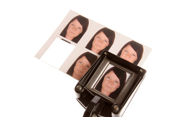 Passfotos im Fotostudio