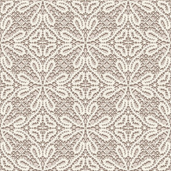 Vintage lace fabric texture, seamless pattern
