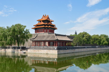 The Forbidden City; Beijing