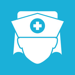 Nurse icon - Vector
