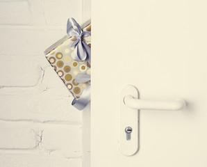 gift at the door