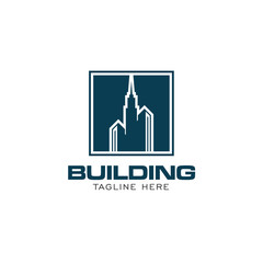 Building Concept Logo Design Template