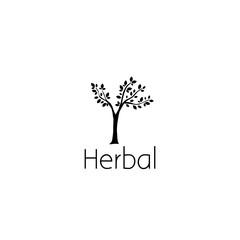 tree logo graphic design concept