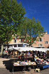 Frejus; France - april 16 2016 : the picturesque city