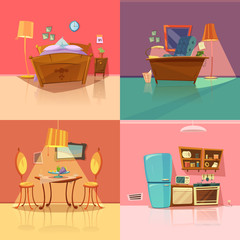 Interior Retro Set