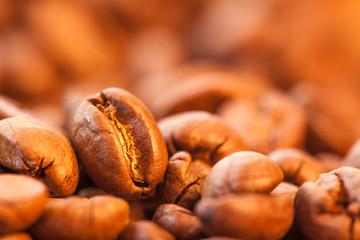 Kaffeebohnen im Detail