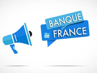 mégaphone : banque de france