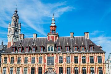 Vieille bourse et Beffroi du vieux Lille