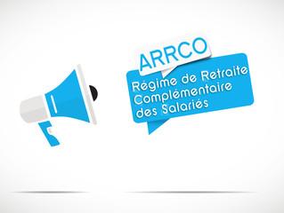 mégaphone : ARRCO