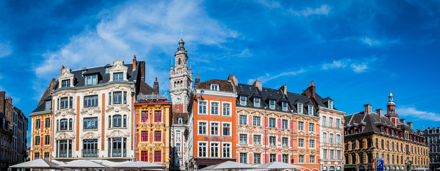 Panorama du vieux Lille