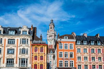 Le beffroi de la chambre du commerce et d'industrie de Lille