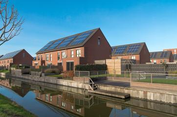 modern residential area