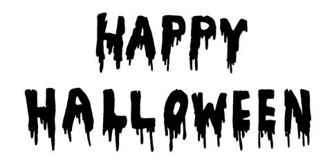 Happy Halloween handwritten