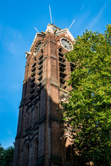 Le campanile de la cathédrale Notre-Dame-de-la-Treille à Lille
