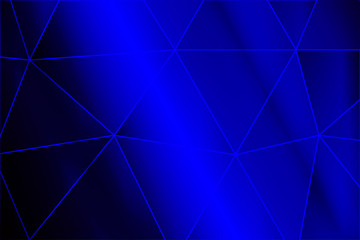 blue gradient background with big triangle. vector
