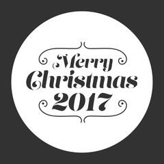 Merry Christmas 2017 card