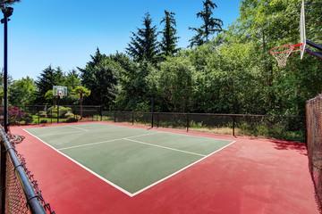 Procurar fotos quadra de basquete for Personal basketball court