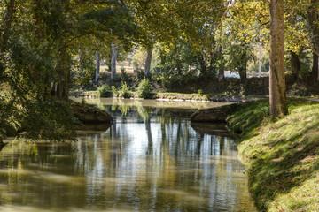 Le Canal du Midi vers Carcassonne