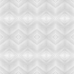 Vector seamless monochrome pattern. Retro texture in grey color. Background in the indian style. Black and white rhombus pattern