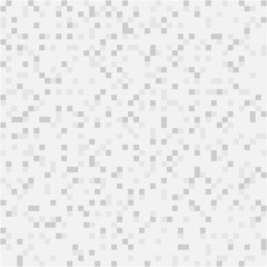 Vector abstract digital background of grey pixels, square design