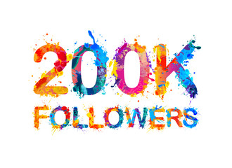 200K (two hundred thousand) followers