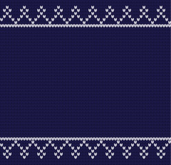 Vector knitted pattern