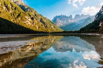 Wall Mural - Dolomites Lago di Landro