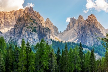 Wall Mural - Scenic Dolomites Vista