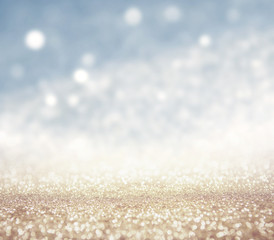 abstract light glitter christmas background.