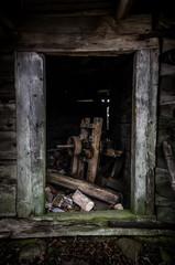Drzwi stodoły