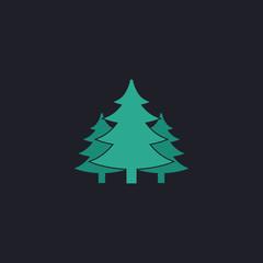 chritmas spruce computer symbol