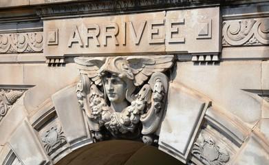 """Corniche """"arrivée"""", Gare de Marseille Saint Charles"""