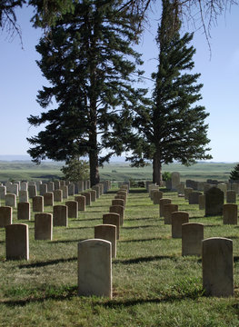 Little Bighorn Battlefield, Cementry (USA)