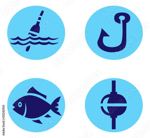 рыболовный крючок иконка