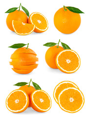 orange fruit set