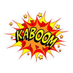 Cartoon Vector Kaboom