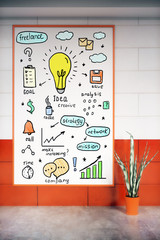 Business idea sketch