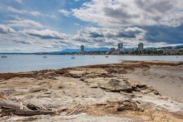 Nanaimo Skyline From Newcastle Island
