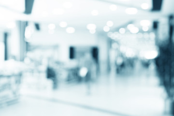 abstract defocused blurred background, empty business corridor o