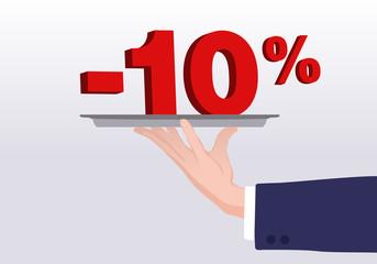 Service - 10%