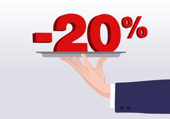 Service - 20%