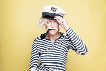 Navy marine sailor funny woman