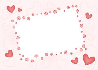 любовное письмо, рамка