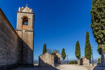 Monastery at Calaceite, Tarragona, Spain