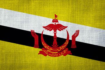 BRUNEI, Flag, Canvas Flag