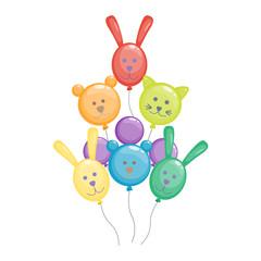Balloon vector illustration isolated