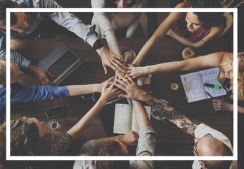 Unity Empowerment People Friends Concept
