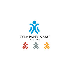 Foundation Charity Logo Icon Vector