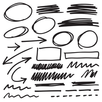 vector marker elements